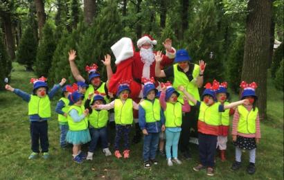 Santa in Glebe Park